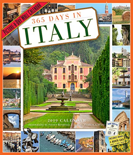 365 Days in Italy Picture-A-Day Wall Calendar 2019