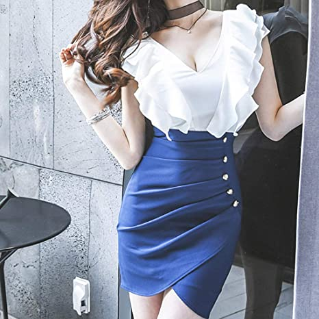 Vestido playa mujer-TianranRT Nuevo Moda mujer sexy con ...