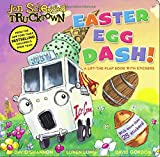 img - for Easter Egg Dash!: A Lift-the-Flap Book with Stickers (Jon Scieszka's Trucktown) book / textbook / text book