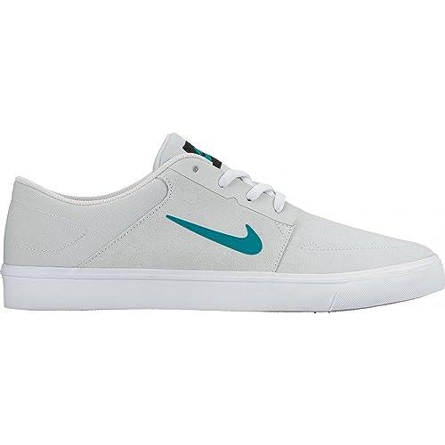 finest selection ff04d 2387e Nike SB Portmore, Zapatillas de Skateboarding para Mujer, Plateado (Pure  Platinum Rio Teal-White-Black), 35.5 EU  Amazon.es  Zapatos y complementos
