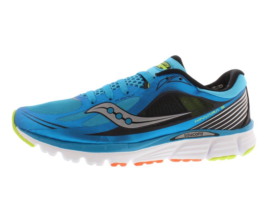 Saucony Men's Kinvara 5 Running Shoe,BlueBlackCitron,8 M US
