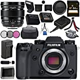 Fujifilm X-H1 Mirrorless Digital Camera (Body Only) 16568731 XF 16mm f/1.4 R WR Lens 16463670 Bundle