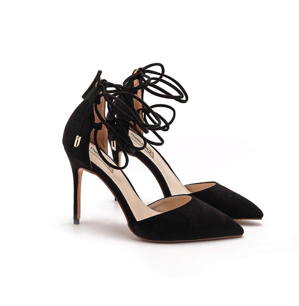 Los Ata Las Lazo El De Zapatos Altos Sandalias Talones Elegantes 4wEqY5nYd