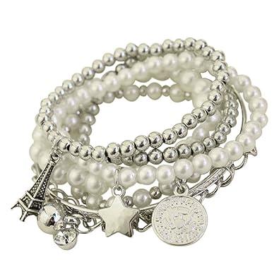 Bracelet Femme Fantaisie Bracelet Manchette Femme Pendentif