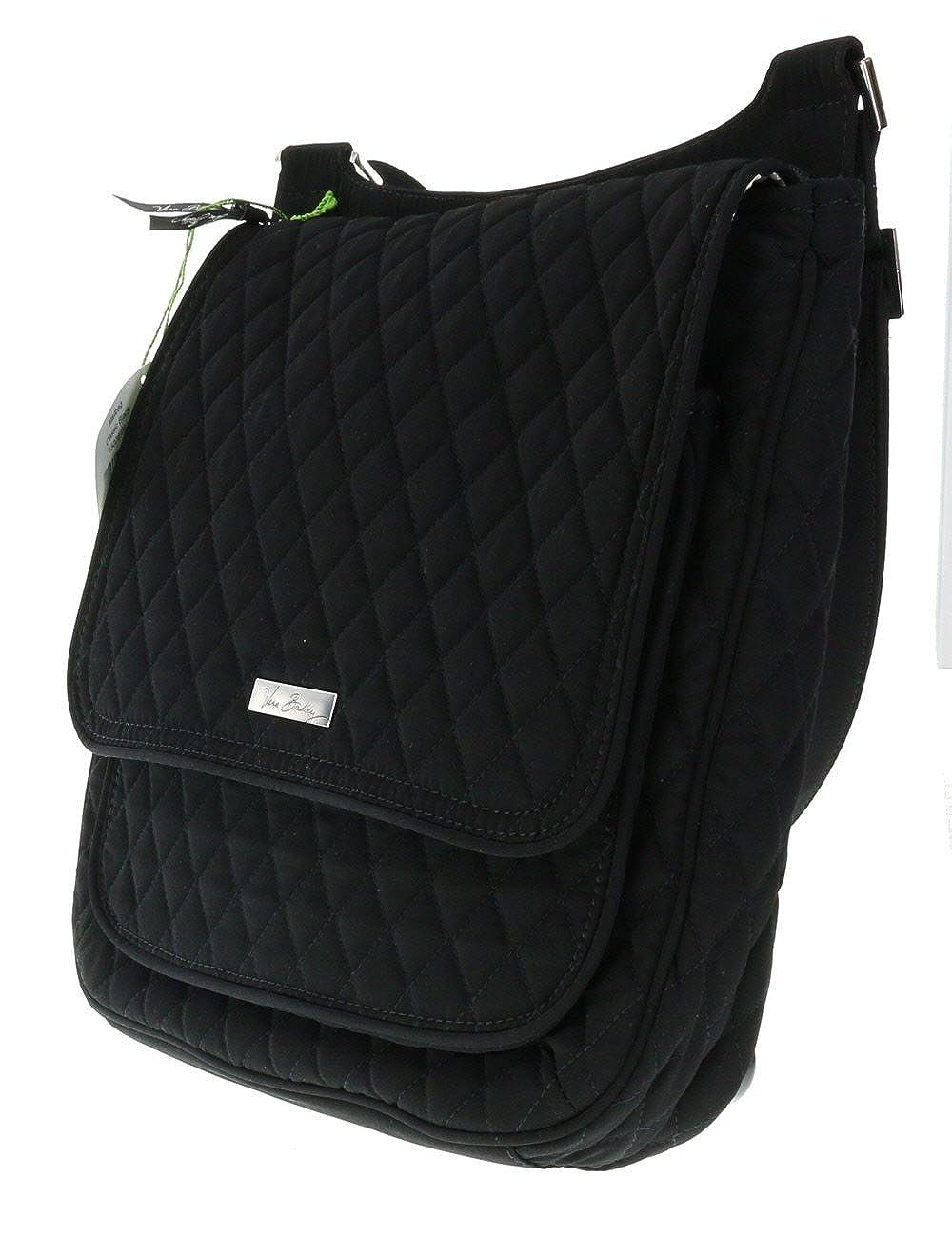 Vera Bradley Cross Body Mailbag in Classic Black  Handbags  Amazon.com f4c1405c34fd4