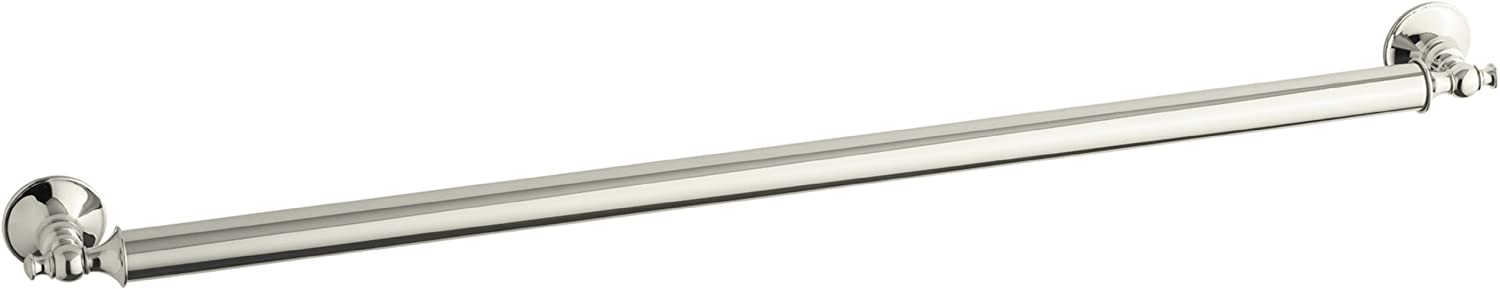 B003M8B8OO KOHLER K-11875-SN Traditional 36-Inch Grab Bar, Vibrant Polished Nickel 61upydhenmL