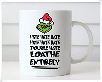 Christmas Grinch Quotes.Ottoriven101 Grinch Mug Grinch Christmas Dr Seuss Quotes How The Grinch Stole Christmas Christmas Coffee Mug Gifts 11oz Ceramic Coffee Mug Tea