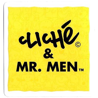 'Cliché & Monsieur hommes Skateboard Sticker–8cm de large environ européenne Skateboard Company Sk8Skate Board