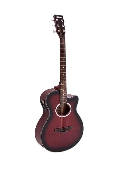 Guitarra Western BRUCE con pickup, redburst - Guitarra country / Guitarra para avanzados - klangbeisser