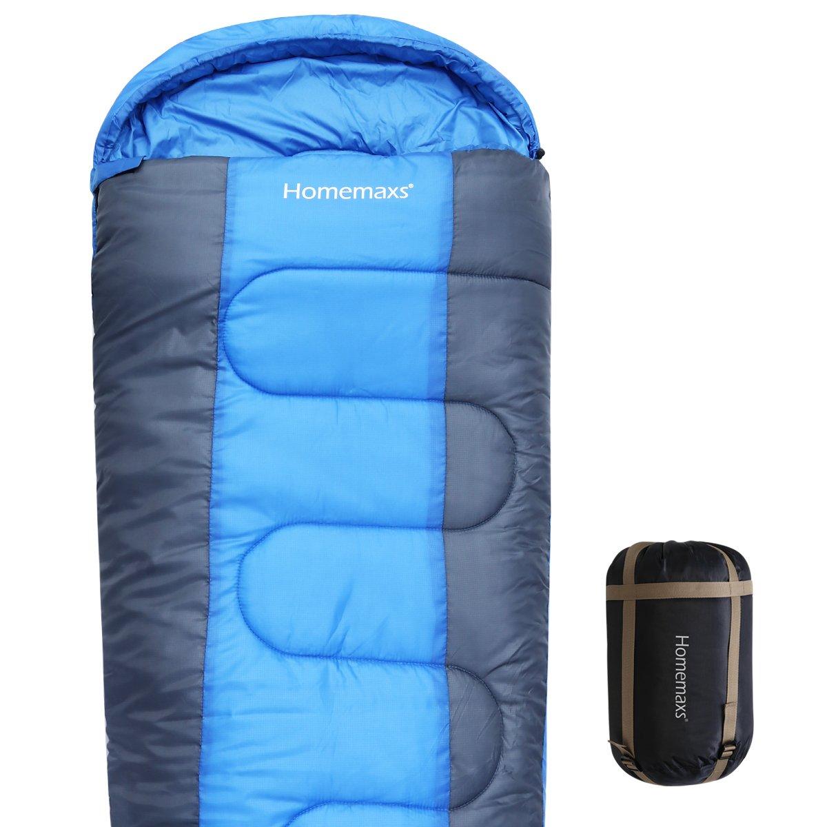 homemaxs Mummy Sleepingバッグ350 GSM軽量3 – 4 Season Sleeping Bag for Adultsキャンプ、ハイキング、バックパッキング、 B071ZGB7ZZ