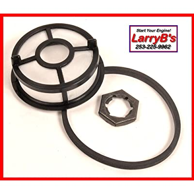 384540000S Fuel Heater Screen Nut and Gasket For Dodge Cummins 1994-98 12 Valve: Automotive