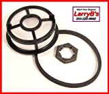 384540000S Fuel Heater Screen Nut and Gasket For