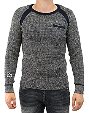 G-Star Bauchan R Knit Long Sleeve Pullover Sweater - Mens