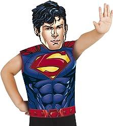 619dc80fb Rubies-33689 Superman Disfraz Party Camiseta+máscara