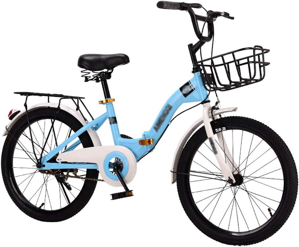YHDP Bicicletas para Adultos,Plegable Crucero Bicicletas De ...