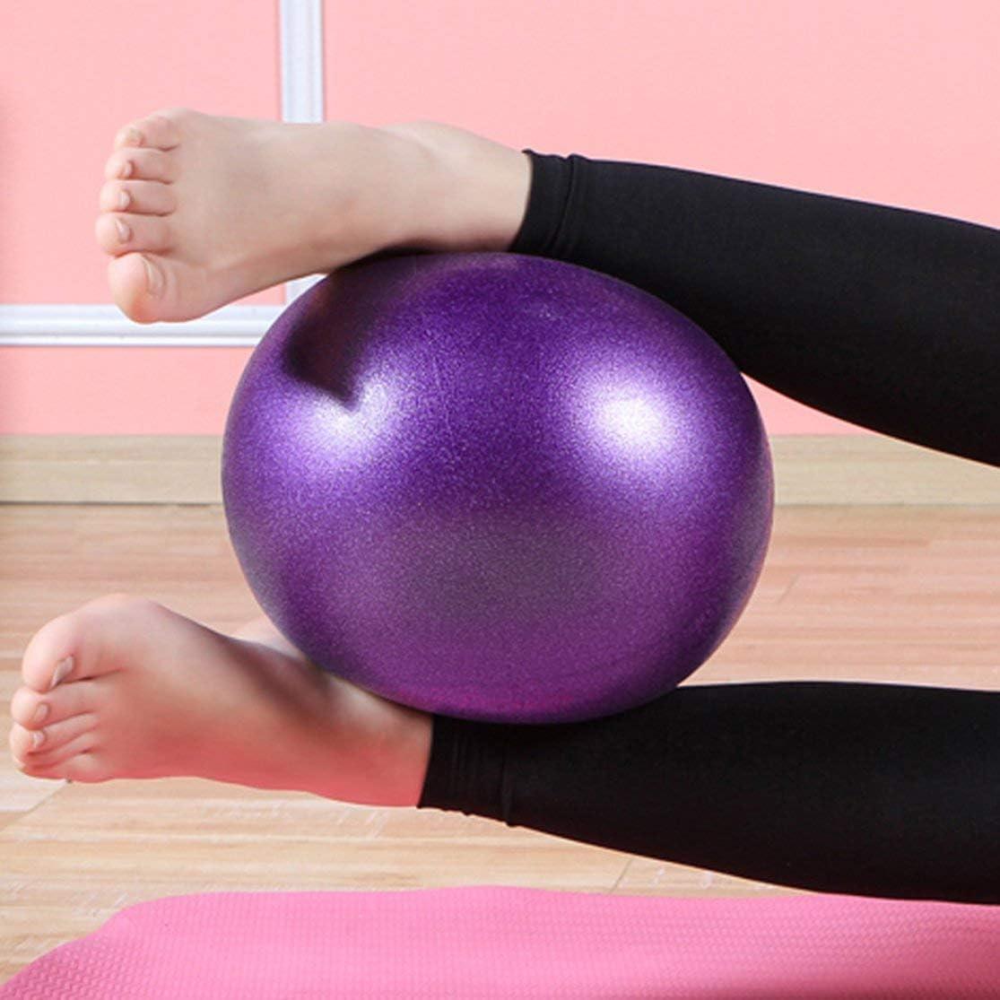 LouiseEvel215 Palla antiscorrimento Professionale della Palla di Fitball di Sport dellequilibrio delle Palle di Yoga di Piccola Dimensione di Forma Fisica di Yoga per lesercizio Domestico