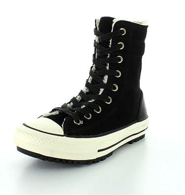 Converse Damen Stiefel Chucks Leder Schwarz 549593C CT AS Hi-Rise Boot  Material Black,