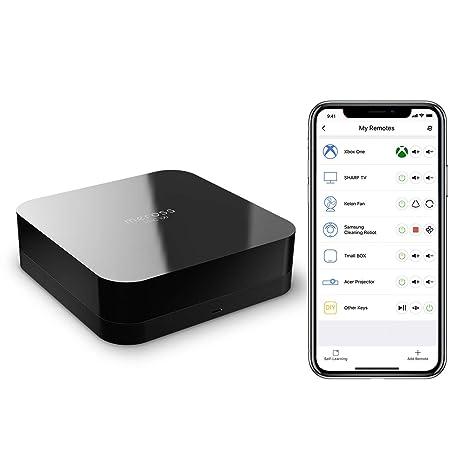 Smart IR Remote Control Universal Remote, App Control and Alexa Voice  Control for Xbox, TV, Fan, Smart Box, etc