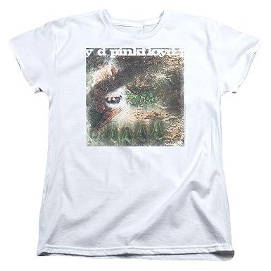 Amazon.com  Pink Floyd - Pulse Album Cover - Women s Cap Sleeve T ... 5132b2fd6a