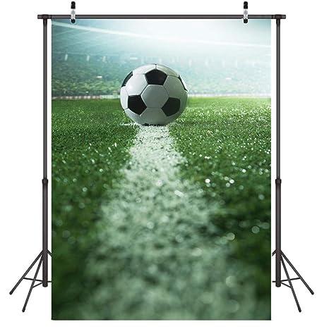 Fondo para Fotografia Campo de Futbol Fondo Photocall Vinilo ...