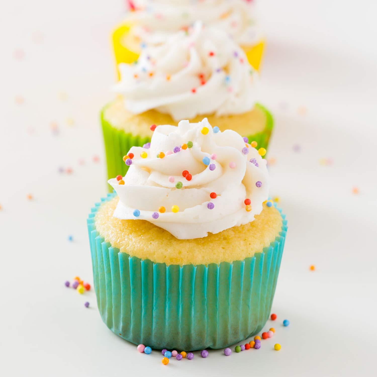 Miss Jones Baking 90% Organic Birthday Buttercream Frosting, Perfect for Icing and Decorating, Vegan-Friendly: Confetti Pop (Pack of 6) by Miss Jones Baking (Image #10)