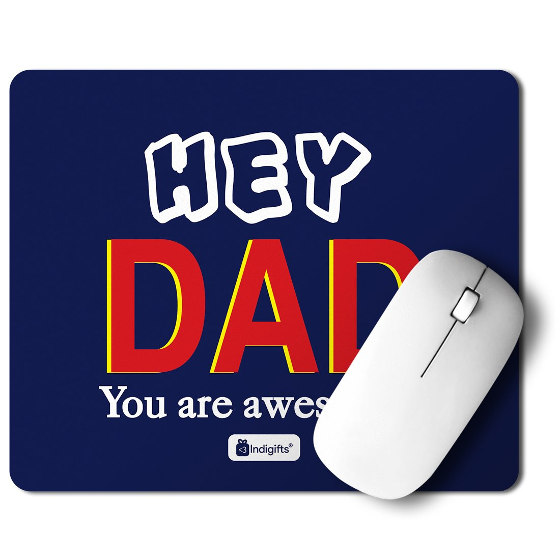 Indigifts Father Birthday Gifts Hey Dad You are Awesome!!! Quote Blue Mousepad 8.5x7 inches - Best Dad-Papa-Birthday Gifts Parents Gifts Mousepad for ...  sc 1 st  Amazon.in & Indigifts Father Birthday Gifts Hey Dad You are Awesome!!! Quote ...