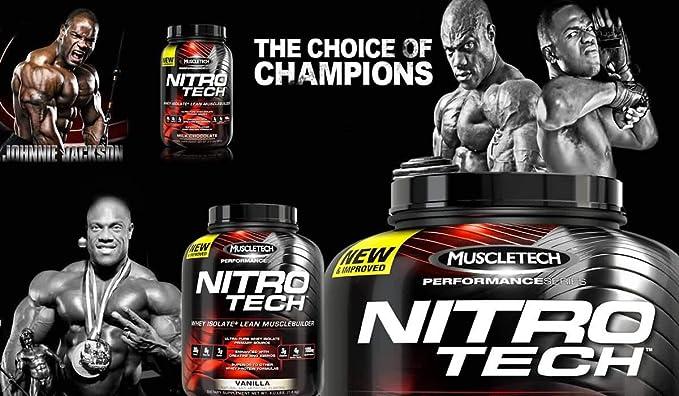 Muscletech Performance Series Nitro-Tech Cinnamon Swirl - 1800 gr