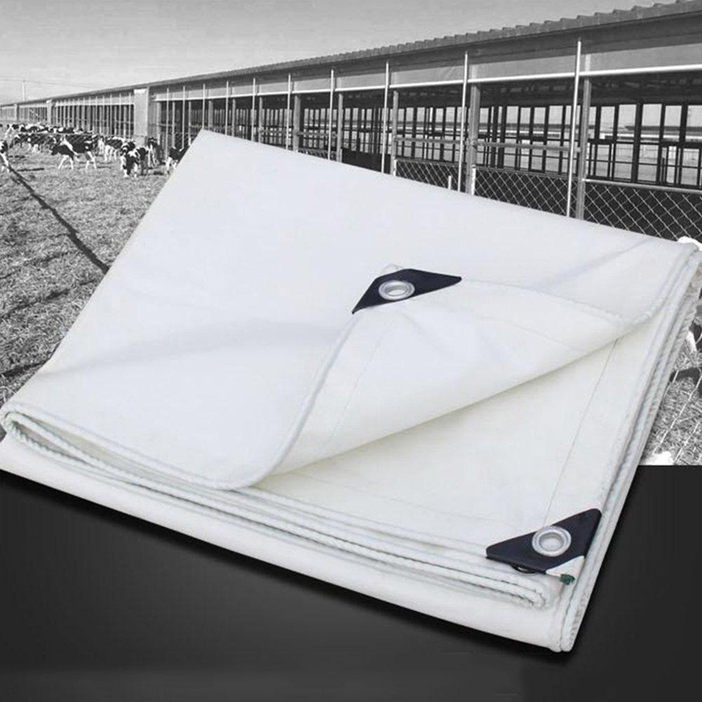 WUFENG オーニング 耐寒性 PVCコーティング 耐寒性 日焼け止め 帯電防止 リノリウム テント キャノピー キャンバス 厚さ0.4mm 530g/M2 (色 : 白, サイズ さいず : 2x2m) B07DB7B8DZ 24495 2x2m|白 白 2x2m