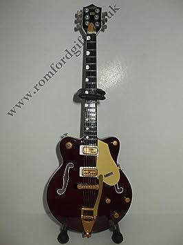 GEORGE HARRISON GRETSCH COUNTRY perchero de guitarra en miniatura: Amazon.es: Hogar