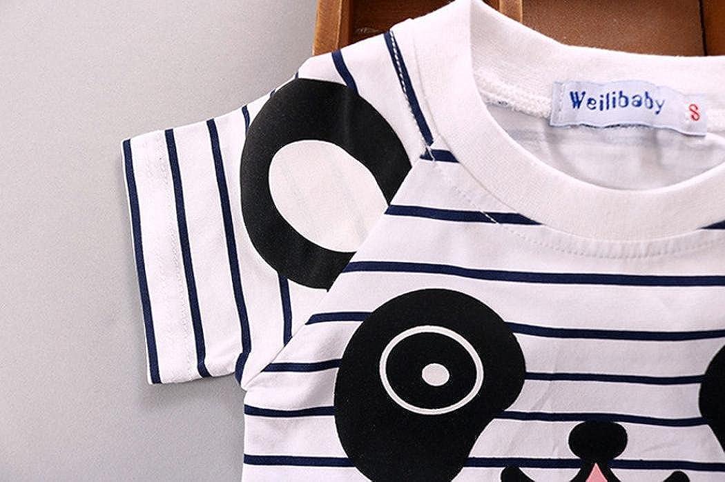 Salopette Pour Enfant Gar/çon Oyedens Salopette B/éb/é Gar/çon Ensemble Bebe Garcon Mode Vetement B/éb/é Gar/çon Ete Pas Cher Outfit Sport Chemise Haut T-Shirts Tops