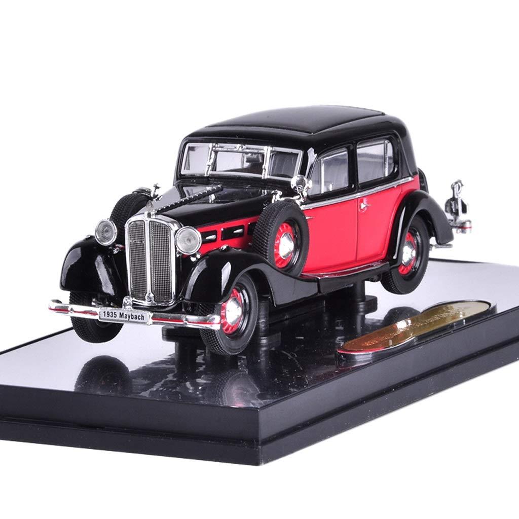 Entrega gratuita y rápida disponible. Rojo GAOQUN-TOY 1935 Maybach SW35 1 43 43 43 Classic Coche Model Metal Simulation Alloy Coche Model (Color   Rojo)  punto de venta en línea