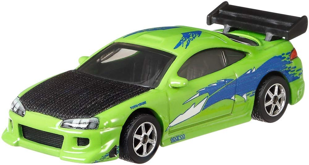 Hot Wheels Premium Fast & Furious, Original Fast Set of 5 Diecast Cars Bundle