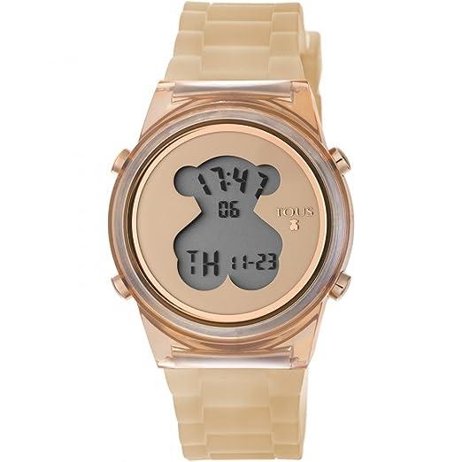 098659471d44 Reloj Tous D-Bear Fresh Nude Mujer Digital 800350695  Amazon.es  Relojes