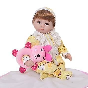 Amazon.es: KEIUMI Muñecas de bebé reborn de 43 cm de ...