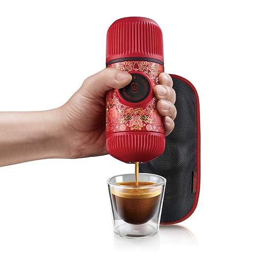 Ss Cafetera Espresso portátil con Estuche Protector, edición ...