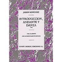 MENENDEZ J. - INTRODUCCION, ANDANTE Y DANZA -