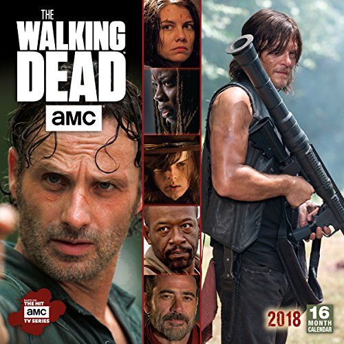 Amc The Walking Dead  2018 Wall Calendar  Ca0170