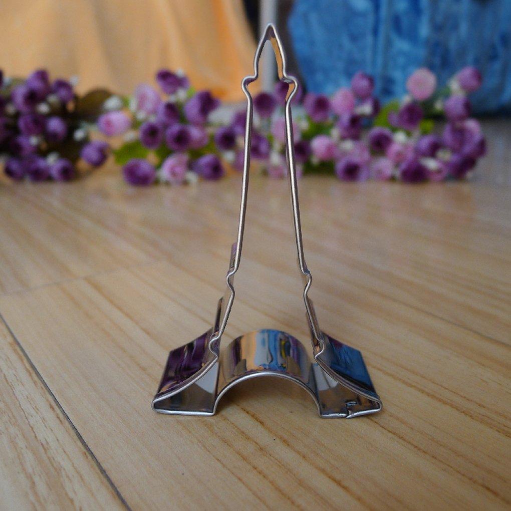 Gankmachine Decoraci/ón de la Torta de la Torre Eiffel Molde del Cortador de la Jalea de la Galleta