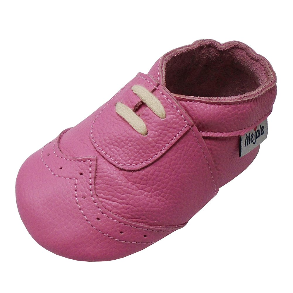 32629cae24966 Mejale Baby Leather Sneakers Premium Soft Sole Moccasins First Shoes ...
