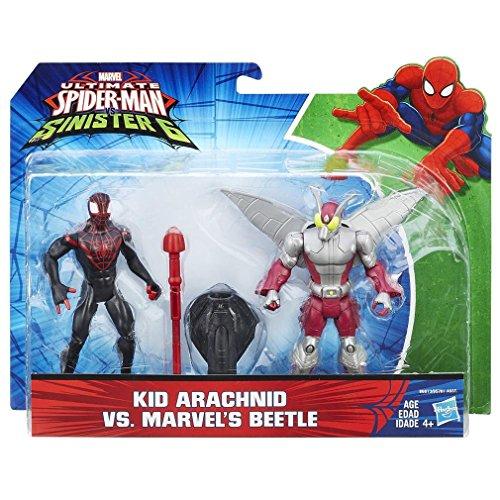 Ultimate Spider-Man Sinister 6 - Kid Arachnid vs Marvels Beetle