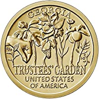 2019 P, D American Innovation Georgia - Trustees' Garden $1 Coin - P and D 2 Coin Set Uncircualted