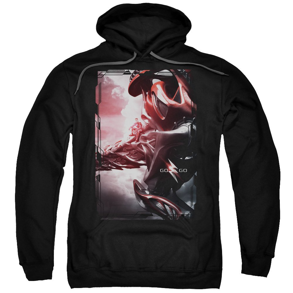 Power Rangers Red Zord Poster Adult Pull-Over Hoodie