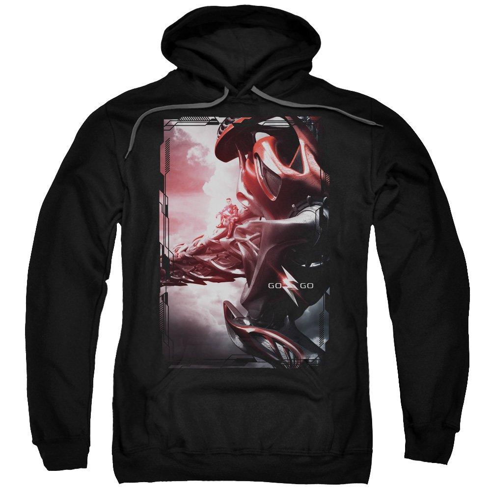 Power Rangers - - Roter Zord der Männer Poster Pullover Hoodie