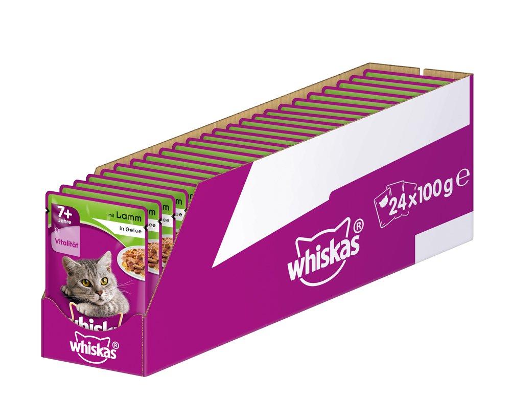Whiskas Nourriture pour chats âgés de 7 ans et+ 5900951270352