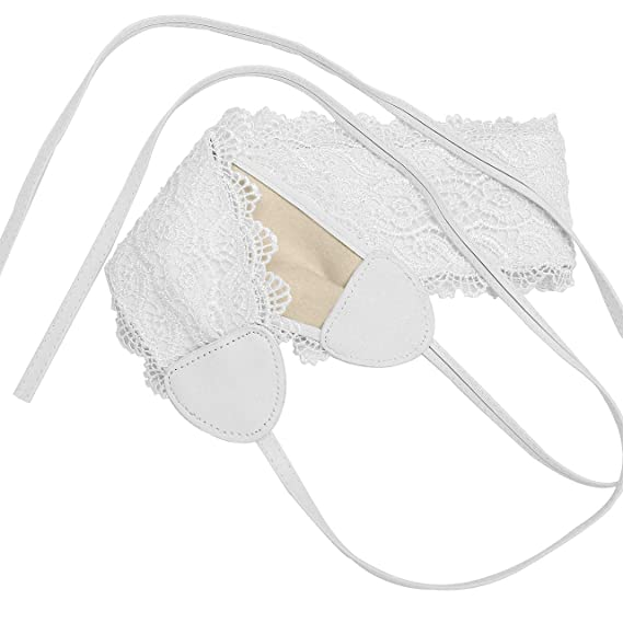 57cd4f44d321 CHIC DIARY Ceinture Obi en Dentelles Femme Fille Large Bande Bandage  Bandeau Haute à Nouer Accessoire pour Robe Chemise Combinaison (2pcs)   Amazon.fr  ...