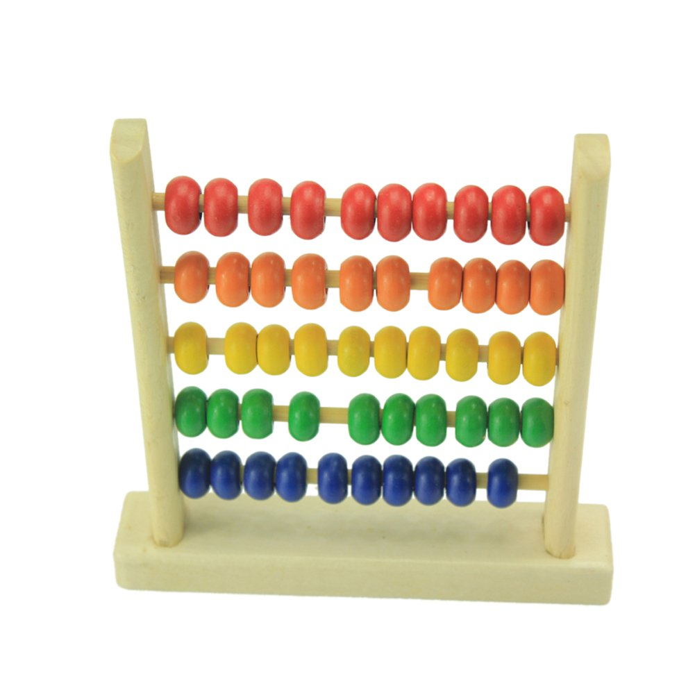 Domybest Game Early Childhood Educational Toys Learning Toy Wooden Abacus Gift (1 #)