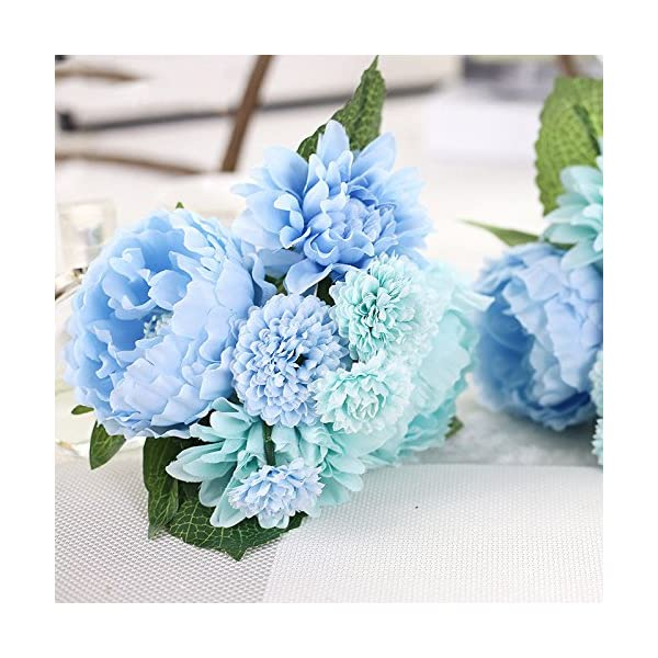 DHD-Wedding-Bride-Hand-Bouquet-Rosemary-Peony-Flower-Bouquet-Vivifying-Flower-Home-Furnishing-And-Decorative-Flower