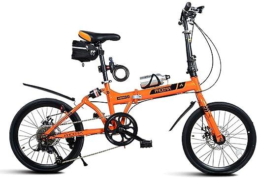 Paseo Bicicleta Plegable Bicicleta 20 Pulgadas Hombres Y Mujeres ...