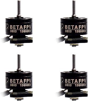 Opinión sobre BETAFPV 4pcs 0603 Motor 19000KV Brushless Motors FPV RC for 1S Brushless Tiny Whoop Drone Multirotor Beta65pro or BWhoop B06 etc