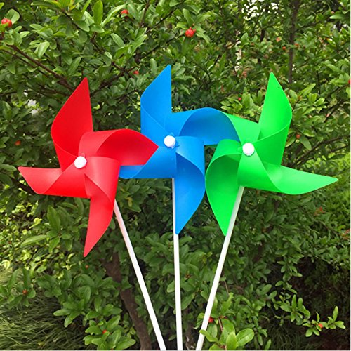 Wind Spinner Pinwheel (IDS 20 Pcs Wind Spinner Whirligig Wheel Party Pinwheels)
